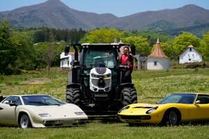 ランボルギーニのトラクターに乗る! 後編──連載「西川淳のやってみたいクルマ趣味、究極のチャレンジ 第3回」