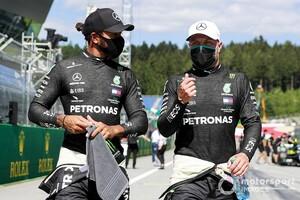 ハミルトン、スチュワード呼び出しもペナルティなし。メルセデスのフロントロウ独占変わらず|F1オーストリアGP