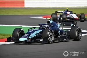 FIA F2シルバーストン:レース2はティクトゥムが初優勝。角田はスタート直後の接触で悔しいリタイア。松下が7位入賞