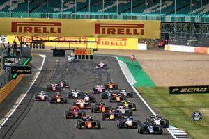FIA-F2第4戦イギリス レース2:ティクトゥムがポール・トゥ・ウイン。松下信治が7位で連続入賞