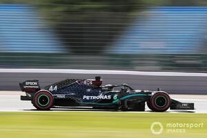 実は苦戦していた……驚異の速さでPP獲得のルイス・ハミルトン、マシンバランスに苦慮と明かす|F1イギリスGP