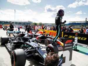 F1イギリスGP予選、ハミルトンが圧巻のタイムでポールを獲得。フェルスタッペンは3番手【モータースポーツ】