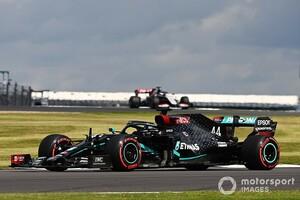 F1イギリスGP決勝速報:終盤に大波乱! ハミルトンがパンクしたタイヤを引きずりながら優勝。レッドブル・ホンダのフェルスタッペンは2位表彰台