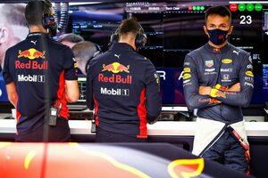アルボン12番手「クラッシュとトラブルで走行時間が足りず自信喪失」レッドブル・ホンダ【F1第4戦予選】