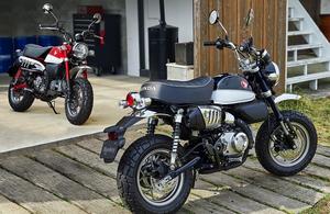 50ccから125ccに成長し奇跡の復活を遂げたホンダの人気レジャーバイク「モンキー125」