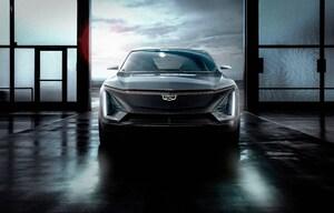 キャデラック初の電動SUV「リリックコンセプト」発表。GMの次世代バッテリーにも注目