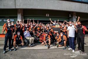 MotoGP初勝利は実力だ! KTMボス、マシン開発の地力とチームを称賛
