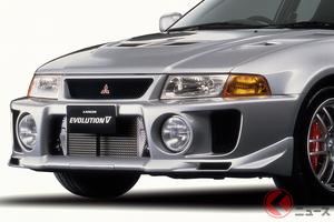 ワイド化されたボディでいまも人気! 22年前に登場した「ランエボV」とは