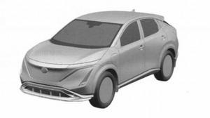 【スクープ】日産の新型ピュアEVクロスオーバーSUV、「アリア」の特許画像が流出?