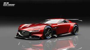 マツダ、グランツーリスモにバーチャル車両「RX-ビジョン GT3コンセプト」提供