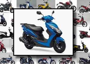"""スズキ「SWISH」いま日本で買える""""原付二種モデル""""はコレだ! 【最新125cc大図鑑 Vol.021】"""