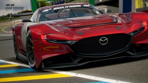 これはカッコよし! 570psの4ローターエンジン搭載「MAZDA RX-VISION GT3 CONCEPT」がグランツーリスモSPORTに出現!
