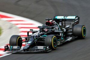 F1技術解説ハンガリー編:驚異のタイム短縮を達成したメルセデス。高速コーナーでの進化が鍵に