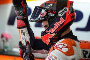 ギリギリまで走ることを諦めない不屈の精神を見せたマルク・マルケス/MotoGP第3戦レースレビュー