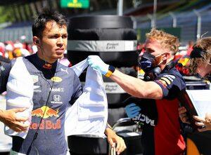 優勝を確信していたアルボン「今回の接触は全面的にハミルトンが悪い」レッドブル・ホンダ F1オーストリアGP