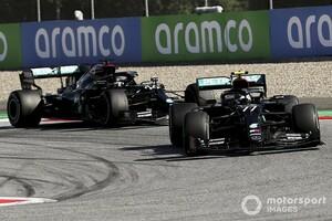 ハミルトン、打倒ボッタス目指しタイヤギャンブル狙うも……「最初のSCで台無しになった」|F1オーストリアGP