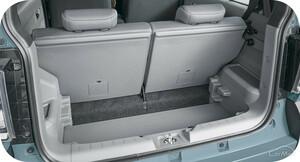ダイハツ 新型タフト(LA900S/LA910S型)の荷室の広さと使い勝手はいかに!?