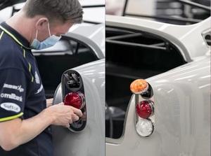 【痛快】マシンガン付きボンドカー「DB5Goldfinger Continuation」の生産がアストンマーティンワークスで開始