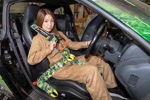 「メカドルR珍道中」DIYでダクト加工とレーシングハーネス装着を実施!