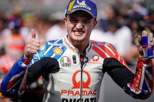 MotoGP:ジャック・ミラーが2021年にドゥカティのファクトリーチーム昇格。契約延長のオプション含む