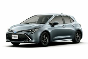 トヨタ、カローラスポーツにより精悍なスタイリングを与えた特別仕様車を設定。一部改良で新色も