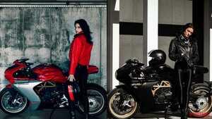 MVアグスタ「スーパーベローチェ800」は赤×銀、黒の2本立てで行く! 発売時期は秋頃か
