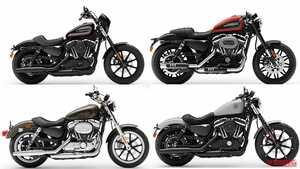 '20新車バイク総覧〈大型クルーザー〉ハーレーダビッドソン スポーツスター/ストリート