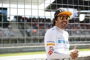 F1復帰が噂されるアロンソ、プランは未定も「トップカテゴリーで戦いたい」