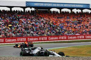 F1ドイツGP、予定外の復活に意欲。黄信号のイギリスGPの代替として交渉中