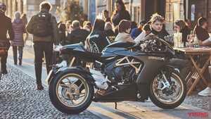 工場再稼働のMVアグスタが「スーパーベローチェ800」に追加カラーを発表! 新鮮な黒と伝統の赤×銀