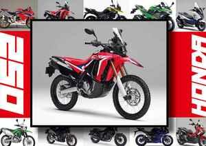 ホンダ「CRF250Rally」いま日本で買える最新250ccモデルはコレだ!【最新250cc大図鑑 Vol.003】-2020年版-