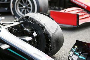 ピレリ、F1イギリスGP終盤に相次いだパンクを調査「すべての可能性を検討しなければならない」