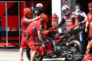 【MotoGP】「何が起きたかわからない」予選18番手のドヴィツィオーゾ、キャリア最悪の結果にお手上げ