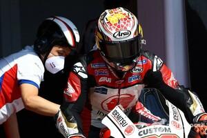 【MotoGP】中上貴晶、Q1敗退も改善に手応え。決勝は「序盤が鍵」とスタートダッシュ狙う
