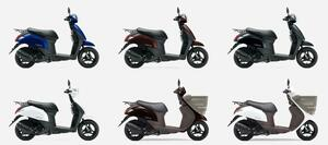 《投票してね》スズキの50cc原付スクーター『レッツ』 2020年モデルのカラーはどれが好き?【穴が空くまでスズキを愛でる/レッツ 試乗インプレ(4)】
