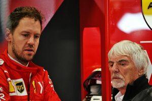 「ベッテルは1年休暇をとり、2022年の復帰を目指す方がいい」と元F1最高権威者エクレストン