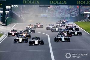 FIA F2、FIA F3も序盤8ラウンドのカレンダーを発表。全てF1と同じ週末に併催