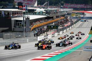 FIA-F2とFIA-F3の2020年新スケジュールが発表。オーストリアで開幕、F1と全戦併催へ