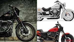 '20新車バイク総覧〈大型クルーザー|外国車〉ハーレーダビッドソン ソフテイル
