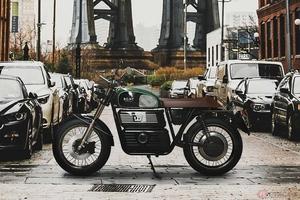 スウェーデン発の電動バイク「RGNT No.1」 レトロデザインを採用したEVの予約が開始