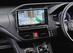 JVCケンウッド 彩速ナビの新製品 広視野角のHDパネルを採用 スマホとの連携強化