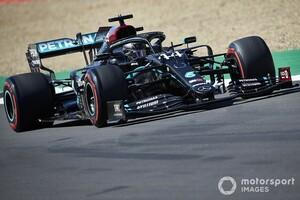 F1 70周年記念GP|FP3:メルセデスの3セッション連続ワンツーで予選へ。レッドブル・ホンダは7、8番手