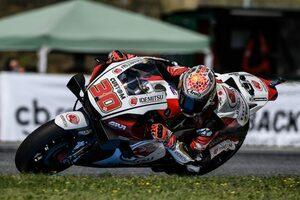 FP1でトップタイムの中上「初日としてはとてもうまく行った」/MotoGP第4戦チェコ初日