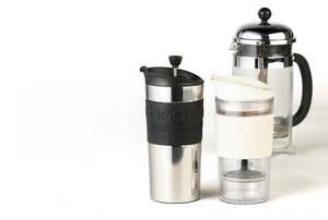 豆と水と4分で、いつでも簡単に美味しいコーヒーが入れられるフレンチプレス【Style in motion 053】