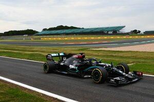 ハミルトン初日トップ「イギリス2戦目なので開発パーツを試し実験をした」とメルセデス【F1第5戦金曜】
