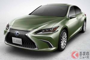 レクサス新型「ES」が登場! 利便性、安全性、燃費性能が向上