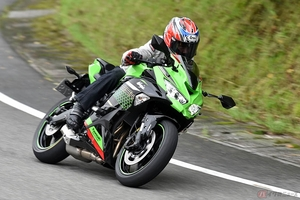 カワサキ「Ninja ZX-25R」の素顔はスポーティな街乗りバイク? 話題の4気筒250ccモデルを公道試乗