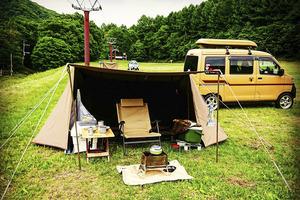 「オシャレ」で「使える」! いまどきキャンプの「軽バン」最強説は本当だった