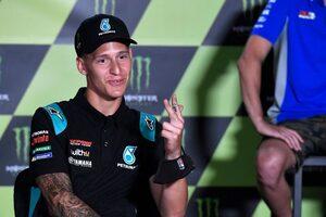 クアルタラロ「ライディングを変えたら最速ラップを記録できた」/MotoGP第4戦チェコGP初日コメント