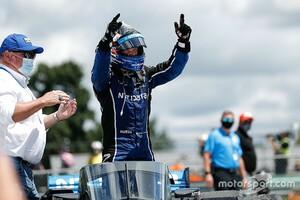 インディ第4戦ロードアメリカ2:ローゼンクヴィスト、ラスト2周の逆転劇。インディ初優勝を果たす
